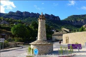 (J18) Santa-Cilia / monastère San Juan de la Pena _14km_ 18 septembre 2013