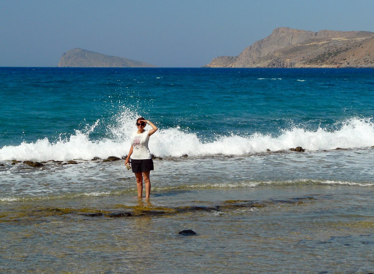 crète plage