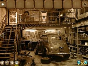 Jouer à Old big garage escape
