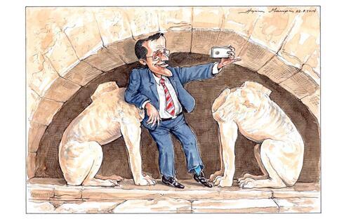 Actualité grecque via la caricature