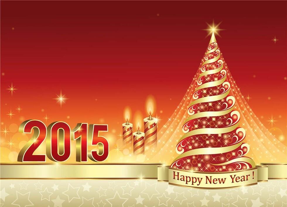 Fond Ecran Bonne Annee 2015