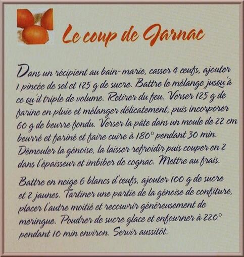 ♥ Aujourd'hui recettes ♥