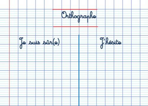 L'orthographe lexicale : comment aider les élèves ?