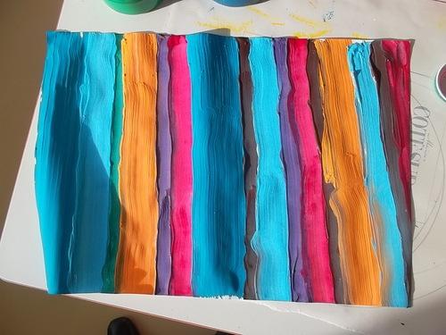 Nos tableaux à la manière de Paul Klee