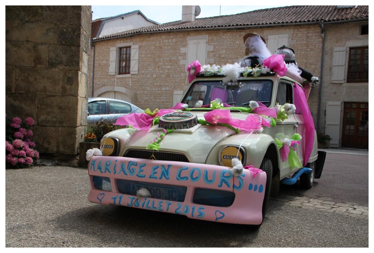 Vive les Mariés ! (Nanteuil-en-Vallée en Charente)