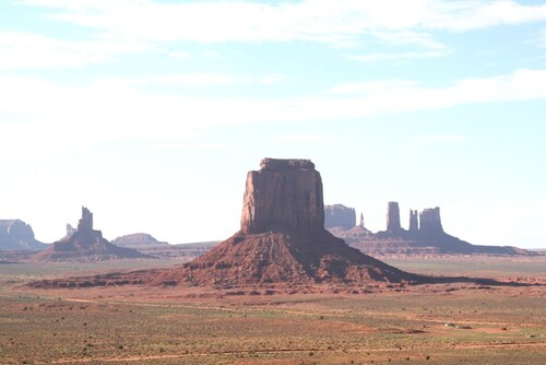 6 septembre: Monument Valley, décors de western