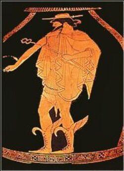 HERMÈS...Dieu du commerce, des voyageurs, des voleurs,  et messager des dieux.
