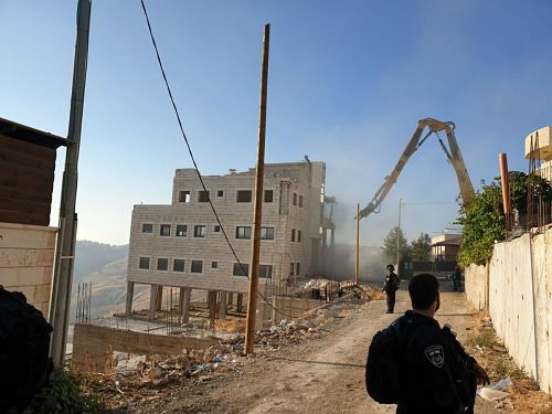 Israël détruit des maisons palestiniennes lors de la plus grande campagne de démolition depuis 1967 (vidéos)
