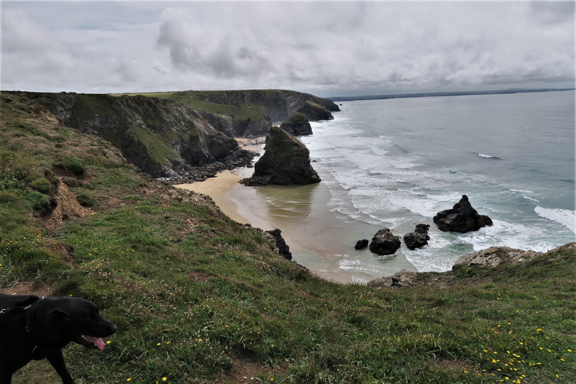 Wouafff : Bedruthan Steps / Cornwall (Cornouailles)