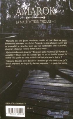 Chronique du roman {La malédiction tsigane 1: Amarok}