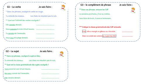 Grammaire au jour le jour tome 2
