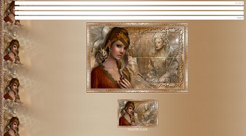 Papier Fantasy Elfe 05