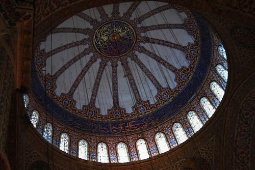 La Mosquée Bleue - l'intérieur -