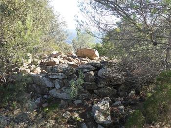 Le dolmen (face Ouest)
