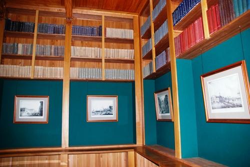 La bibliothèque nationale (et Voltaire) à ST Petersbourg (photos)