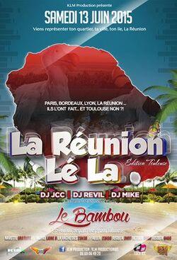 La Réunion lé la : la Réunion lé à Toulouse