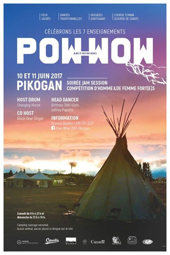 Pow wow de Pikogan
