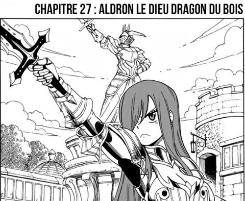 Fairy Tail Quête des 100 ans Scan chapitre 26 en VF Version Française