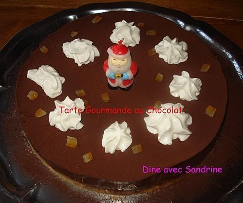 Tarte Gourmande au Chocolat 11