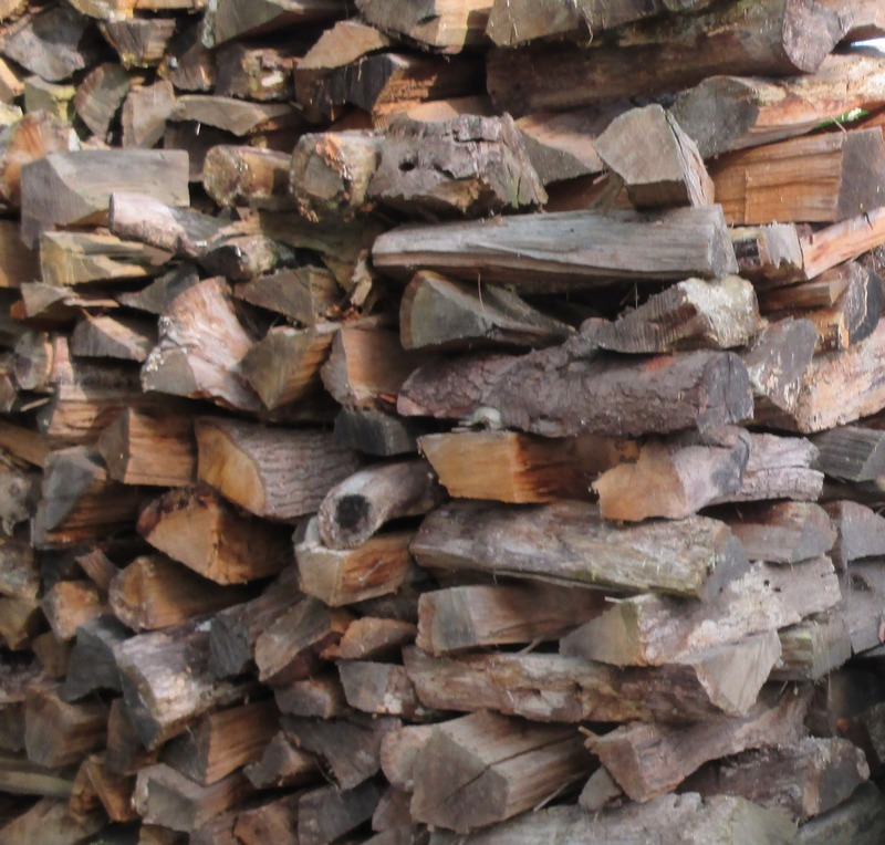 Photo perso, piles de bois