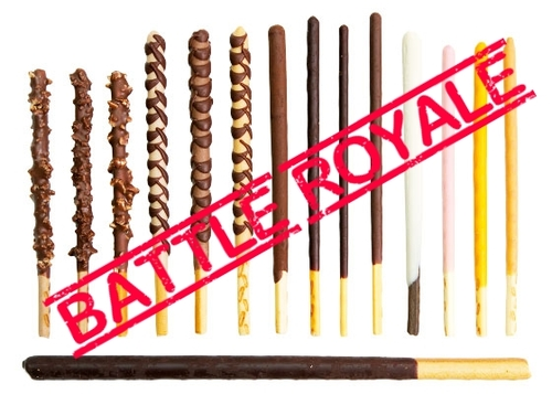 Battle Royal 1: Pocky vs Mikado