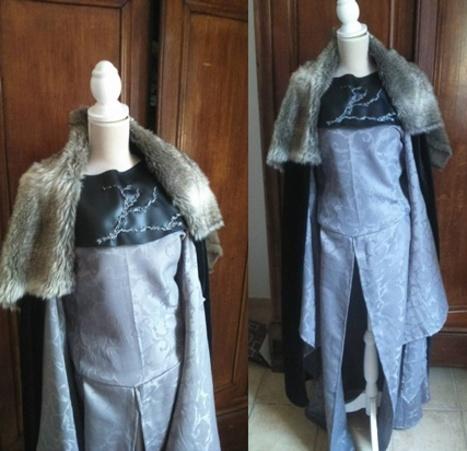 Broderies robe Sansa: c'est parti!