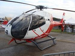 EC 120B Colibri F-HBKB Hélidax,les pilotes de l'ALAT sont désormais formés sur ces machines.