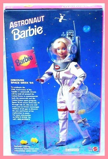 L'astronaute Barbie