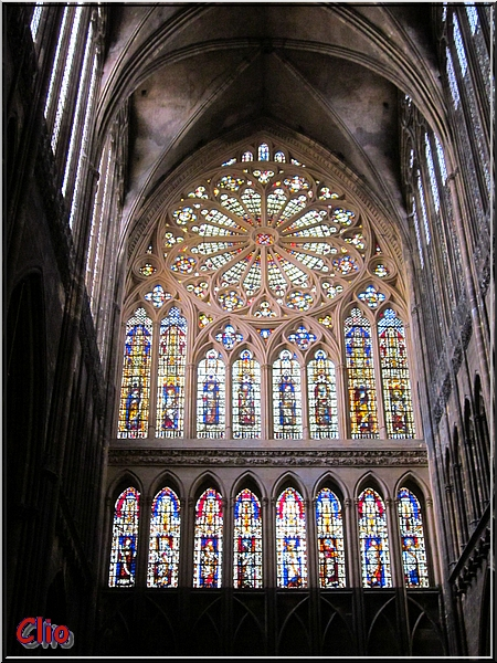 La cathédrale Saint-Étienne de Metz et ses vitraux anciens