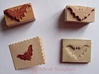 tamponà imprimer en bois - Arts et Sculpture: sculpteur, artisan d'art
