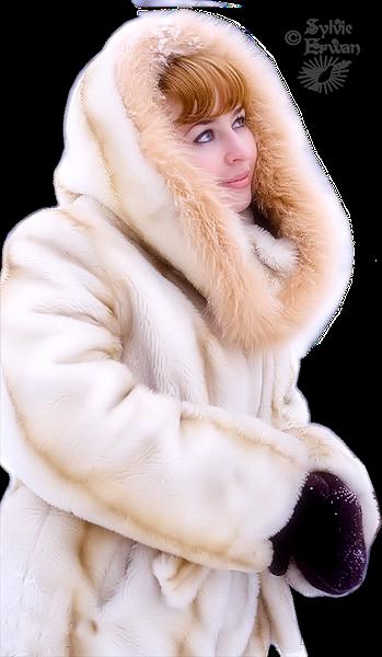 Tubes femmes hiver création 4