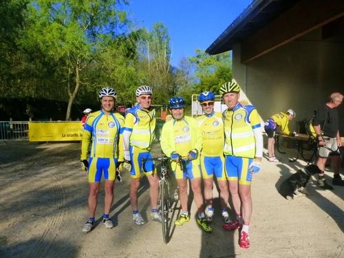 Participation du CCR au Rallye des 3 vallées à Anneyron