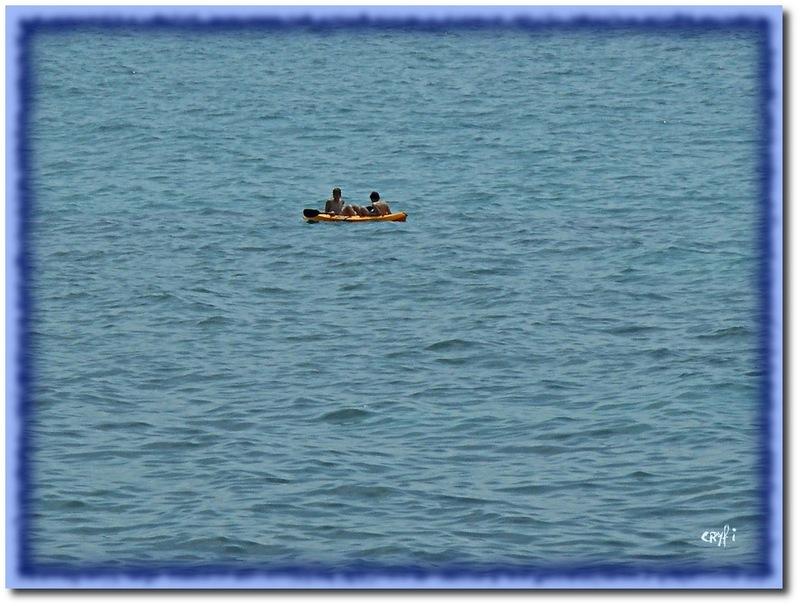 Sur la Corniche, côté mer