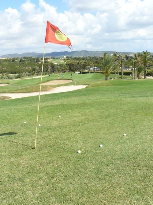 Parcours 9 trous avec le pro sur le parcours de golf Djerba