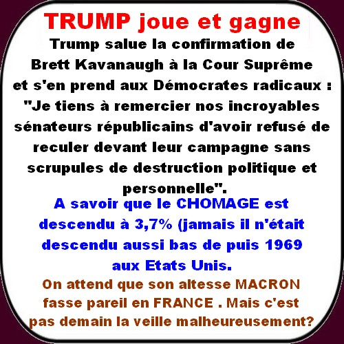 Macron et les malades de LREM, Migrants et Anti-blanc au menu du jour.