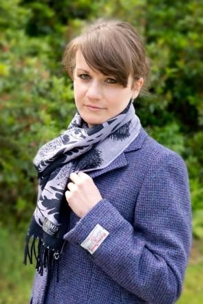Veste femme harris tweed