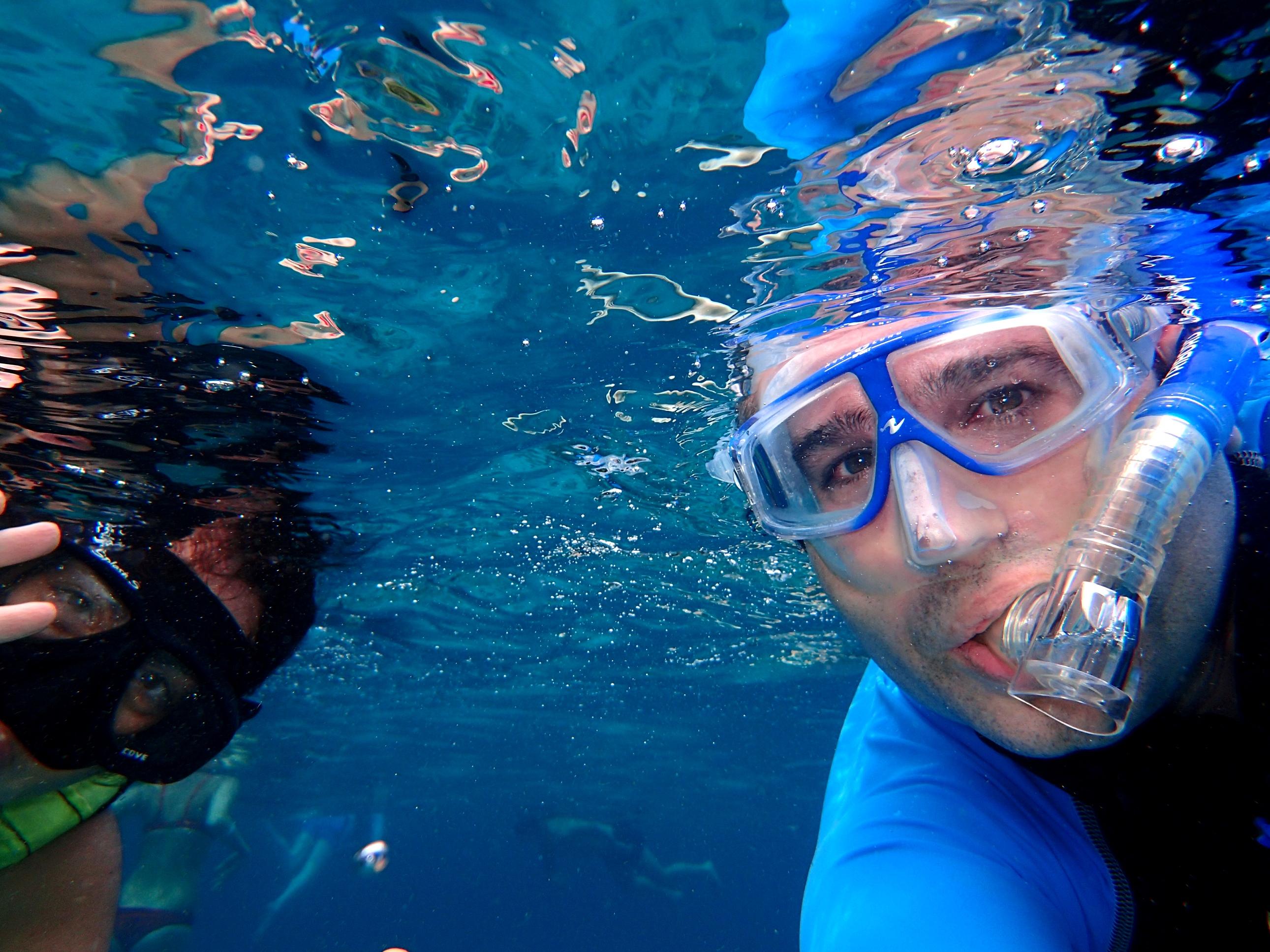 snorkeling aux similans