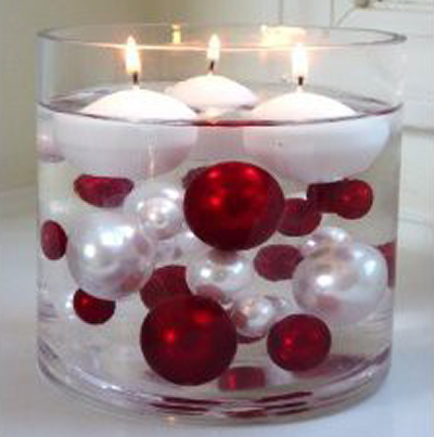 Id e d co no l les bougies d co en nuances - Idee decoration de noel ...