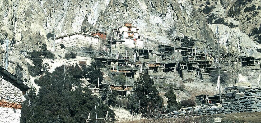 2-Népal-En traversant les villages  /2/