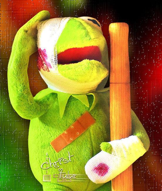 Kermit la Baston .
