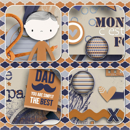 For my Dad by LEAUGOSCRAP