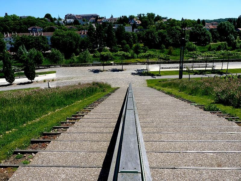 Metz / Le parc de la Seille...