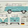 Volkswagen Campervan 1950 - 60