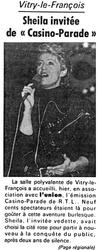 04 février 1987 : Casino-Parade à Vitry-le-François