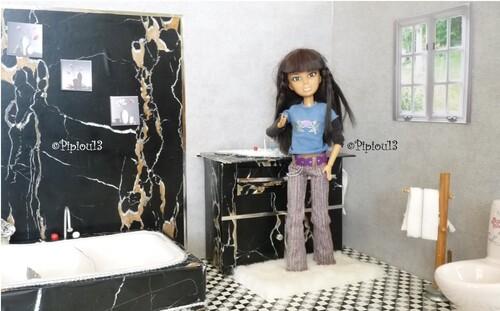 Studio-photos Barbie: la salle de bains (3)