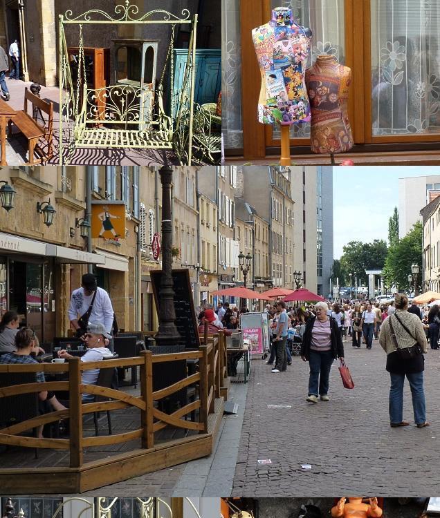 Brocante d'Outre-Seille à Metz 5 septembre 2010