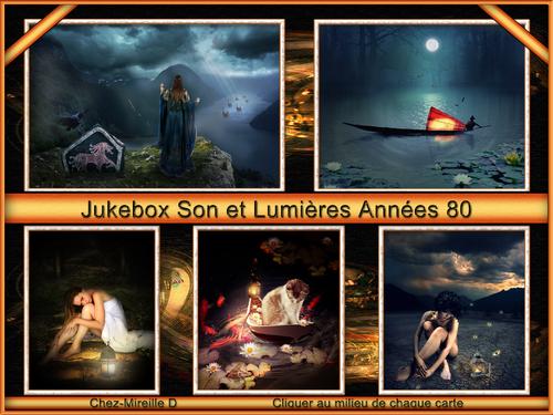 """Jukebox """"Son et Lumières"""" Années 80"""