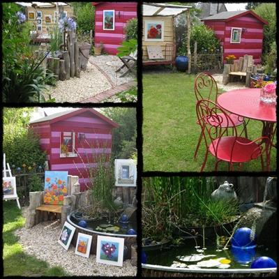 "expo ""Les Arts au Jardin"" (un petit jardin en Bretagne)"
