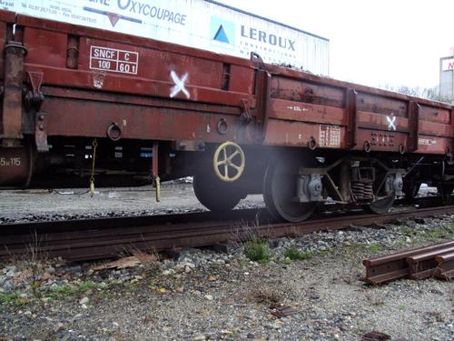 Wagons plats TP