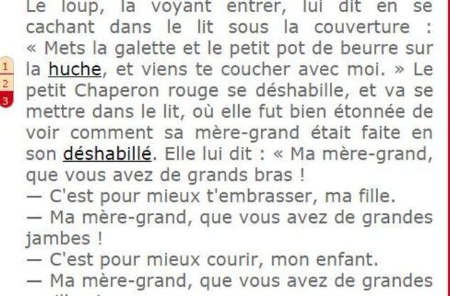 ** SUITE N°2 &FIN. du PETIT CHAPERON ROUGE**